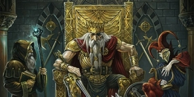 """WARRIOR PATH - """"THE MAD KING"""" (2021, SYMMETRIC RECORDS)"""