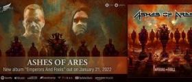 ASHES OF ARES: ANNOUNCES THIRD STUDIO ALBUM